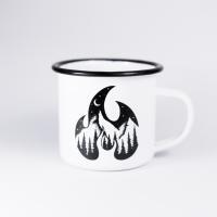 Tervas Outdoor Flame enamel mug