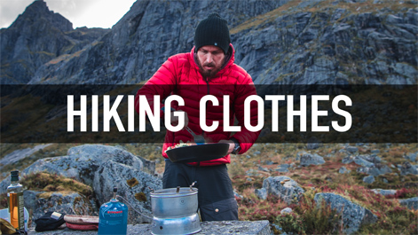 Tervas Outdoor hiking clothes