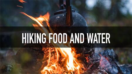 tervas outdoor hiking food and water