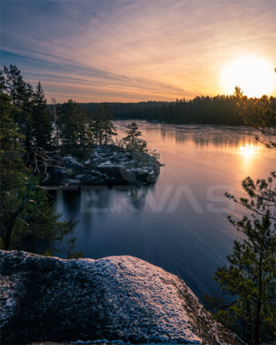 Downloadable image Tervas Outdoor talvinen järvi 1