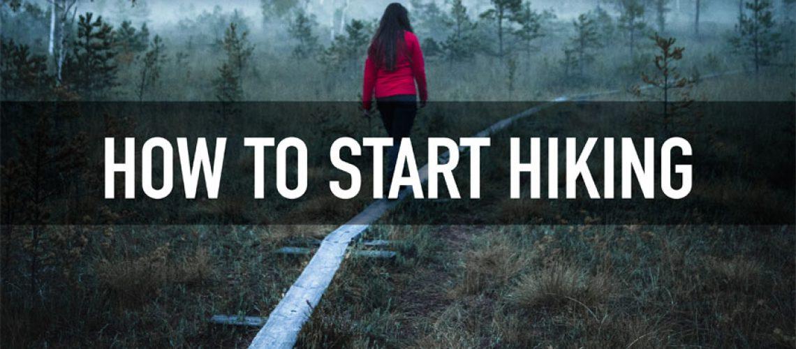 tervas outdoor how to start hiking