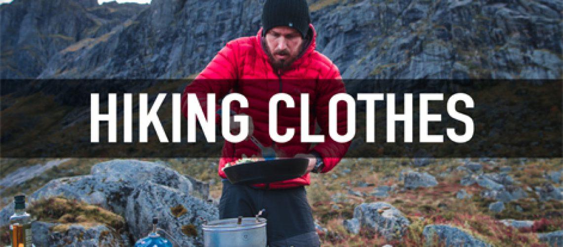 Tervas Outdoor hiking clothes